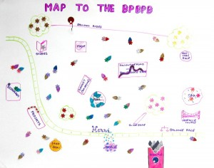 There was so much to do, we made a map.