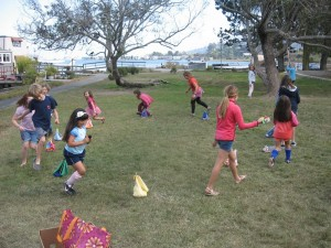 We danced to the drums around our tents.