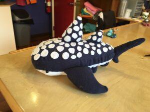 Meghan designed a whale shark